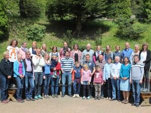 Gruppenbild Vereinsfreizeit Klingental Mai