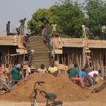 Bau des Schulkomplexes
