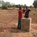 Installation Solar-Pumpe Jungsprojekt Dorcas
